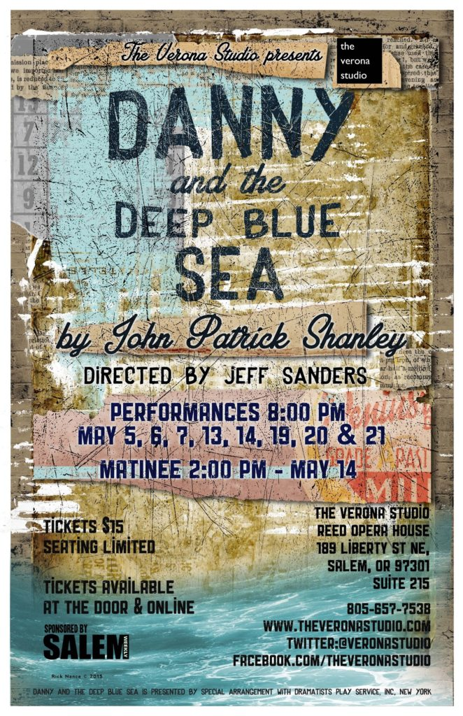 Danny and the Deep Blue Sea poster