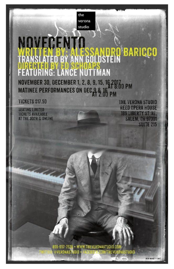Novecento poster
